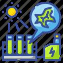 algae, energy, environment, innovative, power icon