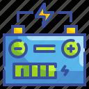 battery, electronics, energy, poles, transportation