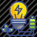 bulb, energy, idea, invention, light