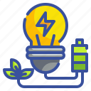 bulb, energy, idea, invention, light icon