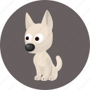 animal, animals, defend, dog, guard, pet icon