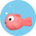 animal, fish, pet icon