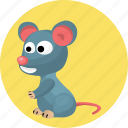 animal, animals, mouse icon