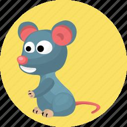 animal, animals, mouse icon