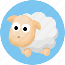 animal, animals, sheep icon