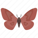 butterfly, fly, insect, moth, springtime animal icon