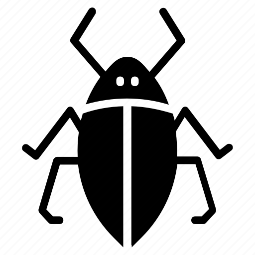 diving beetle, noteridae, pest insect, water beetle, water bug icon