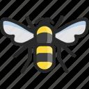 bee, bumblebee, humble icon