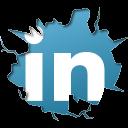 icontexto, inside, linkedin icon