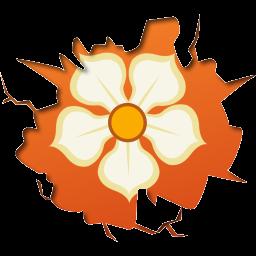 inside, magnolia icon