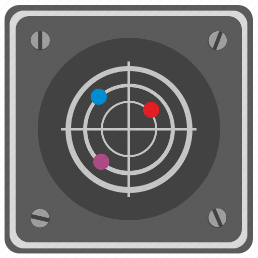 air, control, device, geo, gps, location, target icon