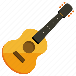 acoustic, guitar, instrument, music, musical, play, sound icon