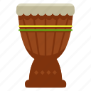 djembe, instrument, music, musical, percussion icon