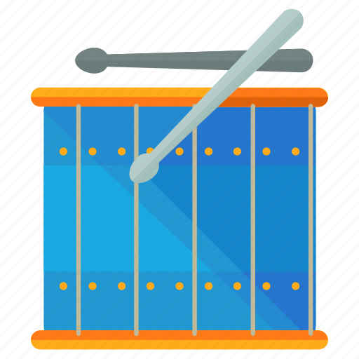 drum, drums, instrument, music, musical, play, sound icon