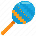 instrument, maraca, maracas, music, musical, play, sound icon