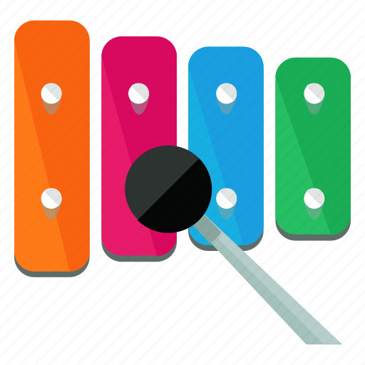 instrument, music, musical, play, sound, toy, xylophone icon