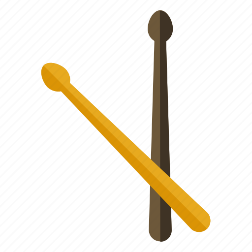 drum, instrument, music, musical, sticks icon