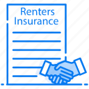 insurance claim, insurance contract, insurance file, renters insurance