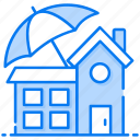 home assurance, house coverage, house insurance, house protection, property insurance icon