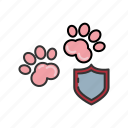 animal, insurance, paws, pet, protection, shield