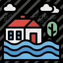 ecology, environment, flood, storm, water