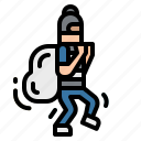 criminal, rob, robbery, safe, steal icon
