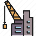 building, construction, estate, industry, insurance, property, safety icon