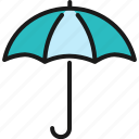 business, cargo, delivery, goods, insurance, protection, umbrella icon