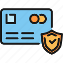 banking, credit card, finance, insurance, money, payment, security icon