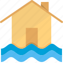 damage, disaster, flood, home, house, insurance, water