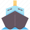 cargo, goods, insurance, logistic, shipping, transportation, vessel icon