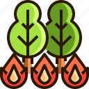 disaster, emergency, fire, protection, safety, shield icon