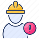 builders, builders risk insurance, construction, construction insurance, construction worker, insurance, risk icon