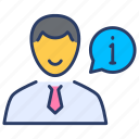advice, employee, help, insurance, protection, user icon