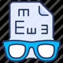 checkup, eye, insurance, optometrist, protection, test, vision icon