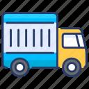 auto insurance, business, cargo, finance, insurance, truck, vechicle icon