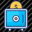bank, deposit, money, safe, secured, security, strongbox