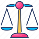 balance, court, justice, law, risk analysis, risk evaluation, scale