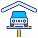 auto, car, car care, car wash, cleaning, service, services icon