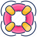 float, help, insurance, protection, safety, security, support icon