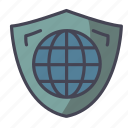 insurance, protection, world, global, care icon