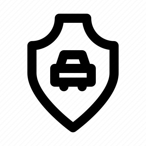 car, guarantee, insurance, promise, protection, shield icon