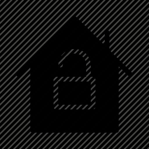 guarantee, house, insurance, promise, protection, unlock icon