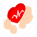 cardiogram, hand, health, heart, protect, protection, sign