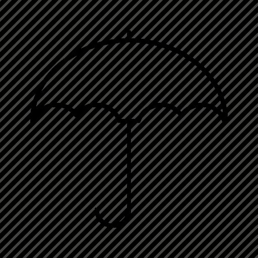 guarantee, insurance, promise, protection, umbrella icon