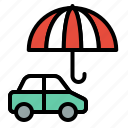 accident, car, insurance, protection, transport, vehicle icon