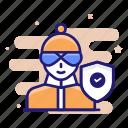 insurance, burglar, crime, criminal, theft icon