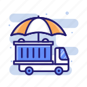 insurance, marine, tanker, transportation icon
