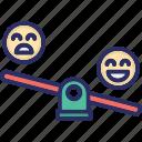 emoji, happy, interaction, review icon