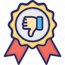award, bad, medal, reward icon